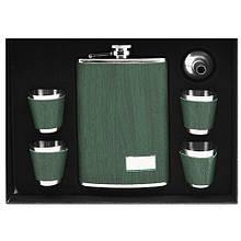 Сувенирный набор 6 предметов 260 мл Stenson R-86711 зеленого цвета