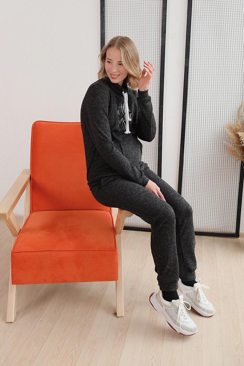 Спортивний костюм для вагітних зимовий чорний To Be (42-48) 4143057-53