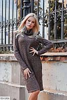 """Платье женское ангора вязка, тянется очень хорошо  (42-44;46-48) """"Vidi Alle"""" 2P/GA-4814"""