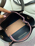 Сумочка в комплекте с клатчем экокожа/качество Люкс, фото 6