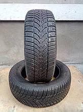 Шины зимние  205 / 60 / R16   Dunlop  2014 р-в ( 4мм. )