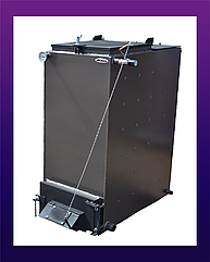 Холмова BIZON 6 квт  5 мм сталь FS-Eco. Твердотопливный котел длительного горения. Котел Бизон
