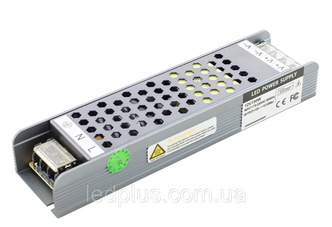 Блок питания 12В 12,5А (150Вт) BPU-150-12 Professional