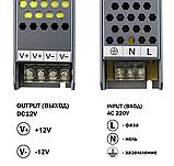 Блок питания 12В 12,5А (150Вт) BPU-150-12 Professional, фото 2