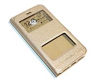 Чехол-книжка Momax для Lenovo a916 Gold