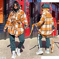 """Пальто женское  кашемир шерсть ,плотная ткань (42-48) """"Lavanda"""" 2P/NR-1360"""