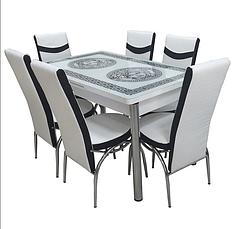 Комплекты из стекла (6 стульев)