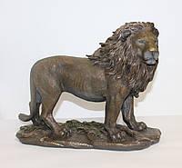 Статуэтка Лев Veronese 34 см 74800A4, символ храбрости