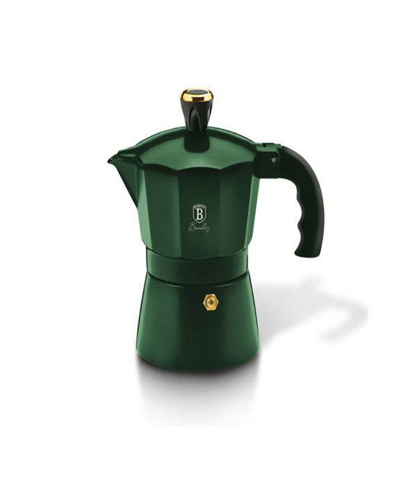 Гейзерная кофеварка 2 чашки Emerald Collection Berlinger Haus BH-6478