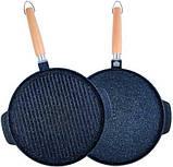 Двухсторонняя сковорода гриль Magefesa Vitrinor VR-1224144, фото 2