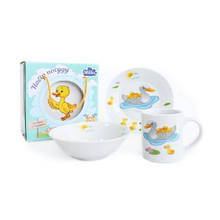 Детский набор 3 пр Duck Family Milika M0690-3
