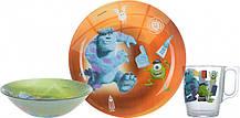 Детский набор 3 предмета Disney Monsters Luminarc P9261