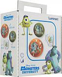 Детский набор 3 предмета Disney Monsters Luminarc P9261, фото 5