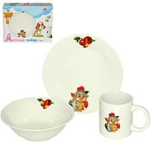 Детский набор посуды 3 пр Ejik SNT 516-04-03-Ejik