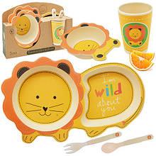 Детский набор посуды Stenson Львенок MH-2775 предметов