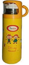 Дитячий термос 0.35 л Con Brio СВ-343 - Yellow