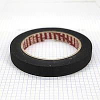 Бета бант лента самоклеющаяся 15 мм для изделий из кожи черный (25 м) a4163 (2 шт.), фото 1