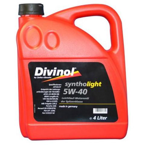 Масло Divinol Syntholight 5W-40 4л