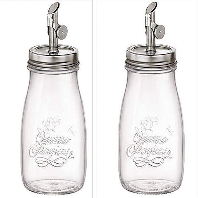 Пляшка для масла 400 мл Quattro Bormioli Rocco 365642-GBI-021990