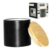 Емкость для сыпучих продуктов 500 мл черная SNT 2244-08-black
