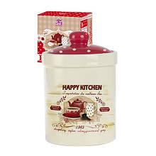 Ємність для сипучих продуктів 700 мл Happy Kitchen SNT 6922-11