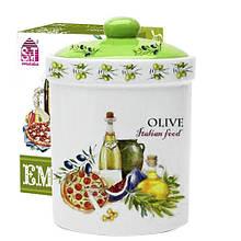 Емкость для сыпучих продуктов 700 мл Итальянские блюда SNT 6922-13