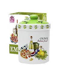 Емкость для сыпучих продуктов 990 мл Итальянские блюда SNT 6923-13