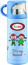Вакуумный детский термос 350 мл Con Brio СВ-343голуб