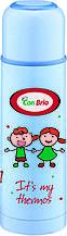 Вакуумный детский термос 350 мл Con Brio СВ-344голуб