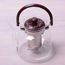 Заварочный чайник с ситом на 1400 мл Kamille KM-1611