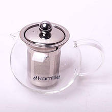 Заварочный чайник с ситом на 400 мл Kamille KM-1600