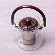 Заварочный чайник с ситом на 600 мл Kamille KM-1606
