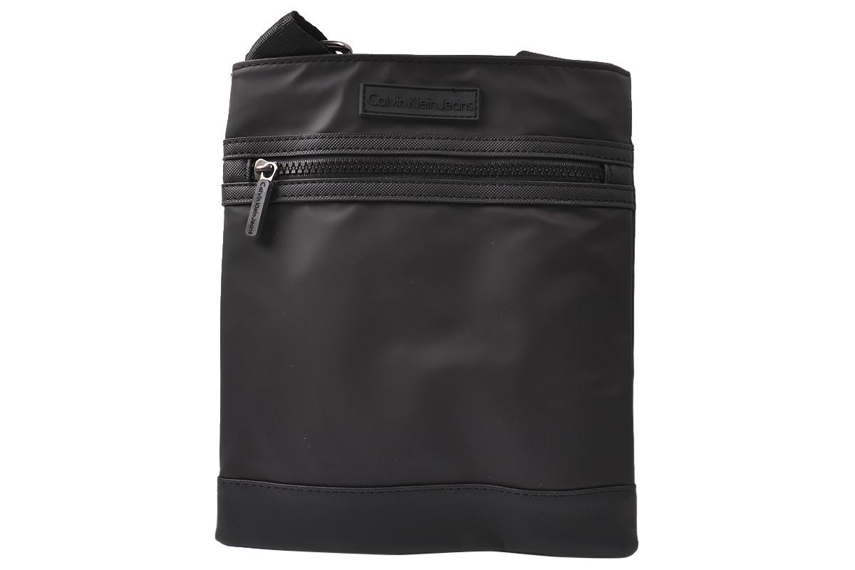 Стильная мужская сумка из текстиля, цвет черный