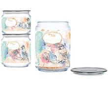 Набор банок для сыпучих продуктов 3 шт Plano Happy Bird Luminarc P9217