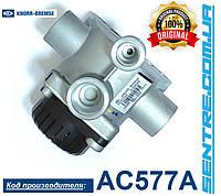 Клапан ускорительный Renault 5010525137, (M22x1,5/M16x1,5) DAF 1360613 XF106 AC577AF / K105481N00 Knorr-Bremse, фото 1