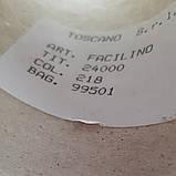 50% лен 50% хлопок TOSCANO - бобинная пряжа для машинного и ручного вязания, фото 3