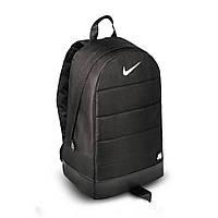 Стильный мужской портфель Nike Air черный спортивный повседневный рюкзак Найк сумка кожаное дно топ качество
