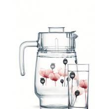 Набор питьевой Arcopal Angelique Red P6285 7 предметов