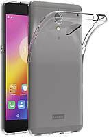 Чехол силиконовый для Lenovo Vibe P2 ультратонкий прозрачный