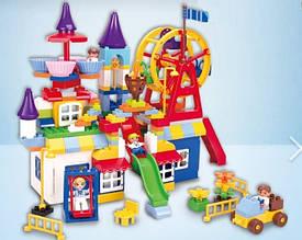 """Конструктор для малышей с крупными деталями 8388A """"Большой парк развлечений"""", 188 деталей"""