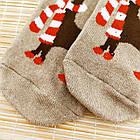 Носки женские махровые новогодние высокие Добра Пара 23-25р олень ассорти 20038946, фото 4