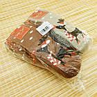 Носки женские махровые новогодние высокие Добра Пара 23-25р олень ассорти 20038946, фото 6