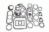 Комплект прокладок КПП Т-150 (прокл папір), фото 3