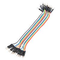 Набор проводов для макетирования 20 штук 20PIN_M_M
