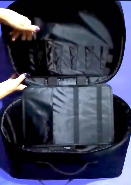 Черная сумка-органайзер А020