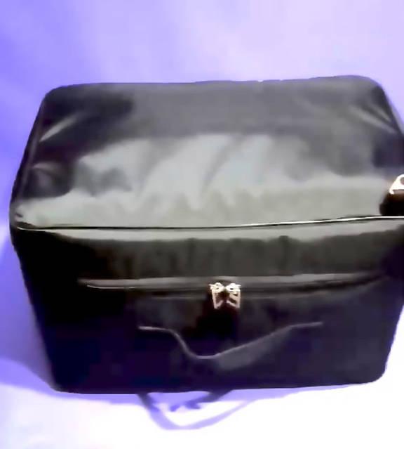 Черная сумка для парикмахерского инструмента Модель А020