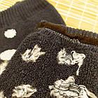 Носки женские махровые новогодние высокие Добра Пара 23-25р пингвин тёмно-синие 20039004, фото 3