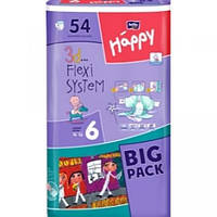 Підгузники  для дітей Хепи 6 54 шт.