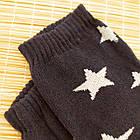 Носки женские махровые новогодние высокие Добра Пара 23-25р дед мороз тёмно-синие 20038977, фото 2