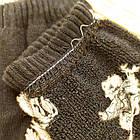 Носки женские махровые новогодние высокие Добра Пара 23-25р дед мороз тёмно-синие 20038977, фото 3